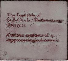 Institute plaque, enamel by teriathanin