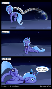 The Stars Will Aid In Her Escape by I-am-knot