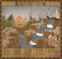 The Great City of Askarion by Sapiento