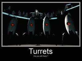 Portal 2: Turrets by FireFoxProject