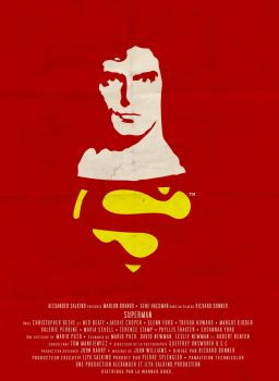Superman the movie - poster by williamgrunenwald