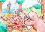 Elisha and the Bears by Panistheman