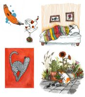 Cats by liselotte-eriksson