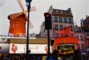 The Moulin Rouge by Sparkyredboy