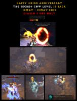 Happy third anniversary Diablo3 Not the cow level by Championx91
