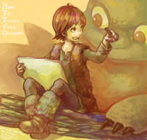 HTTYD:drawing by sumi0060