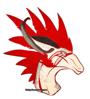 Featherhead by Stitchy-Face