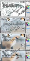 Speed painting a pterosaur tutorial by tepuitrouble