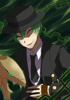 Blazblue - Hazama by Toumatoo