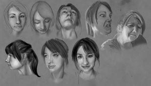 Face Practice by Fieldweeble