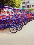 Colorfull bikes by music-drop