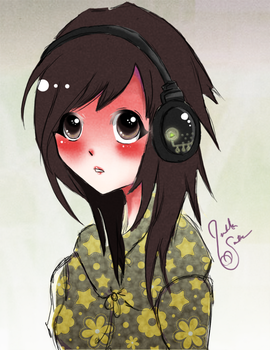 Me in Anime Form by Nagisa-Furukawa