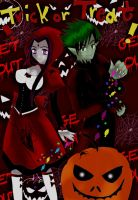 Red Riding Rae and BBWolf xD by pizet