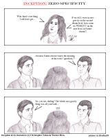 Inception Comic: 0 Specificity by beekay84