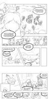 DWC: PR-03 comic pg 1, 2, 3 by Riza23