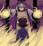 Toriel and the Child by ben-saint