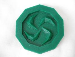 Legend of Zelda Sage Medallions - Forest Medallion by ChinookCrafts