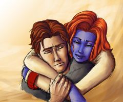 Xmen Big Bang - Hug by Dailan