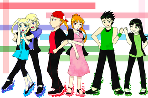 RRB meet PPG(Teen ver) by TanishiCurry