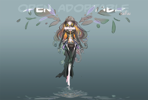 [CLOSED] Adoptable - Sombre by kaifuu