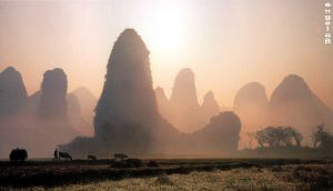 Morning in Guilin by angelob