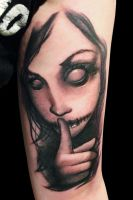 Cara by maximolutztattoo
