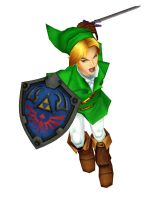 [MMD] HW Link (Ocarina of Time) by arisumatio