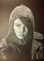 Noomi Rapace by Oll
