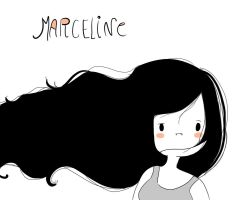 AT Marceline (hair?) by michelle-lennon9