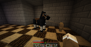 My Minecraft Horse by I-Am-The-New-L