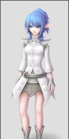 The White Mage Ashiva by Bekurah-Toshin