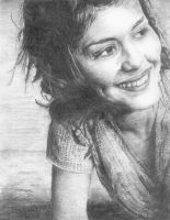 Audrey Tautou by Ethelien