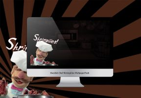 Swedish Chef Shrimpies Wallpak by drdrevil