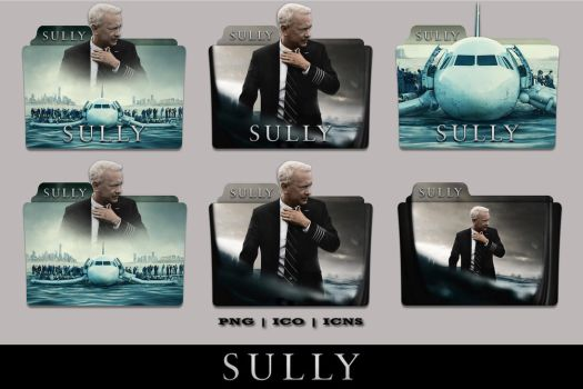 Sully (2016) Folder Icon Pack by Bl4CKSL4YER
