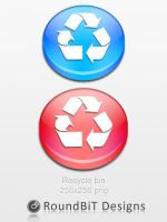 Crystal Recycle Bin by TheSaladMan
