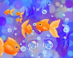 (NaPiDraMo 2014) Goldfish Conversations by bunnyb133