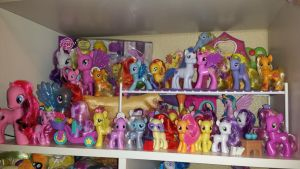 My Little Pony FIM G4 Collection  School Fillies by Amyatpebble