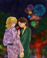 Tiger and Bunny---Yukata Buddy by Lukona