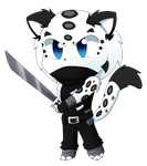-PC- Ice Chibi by Gist-the-fox