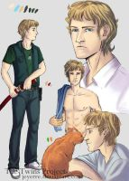 Character sheet: Xander by Jeyerre