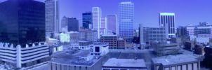 Panoramic Columbus, OH by Tophoid
