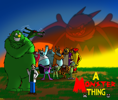 A Monster Thing group v4 by BluebottleFlyer