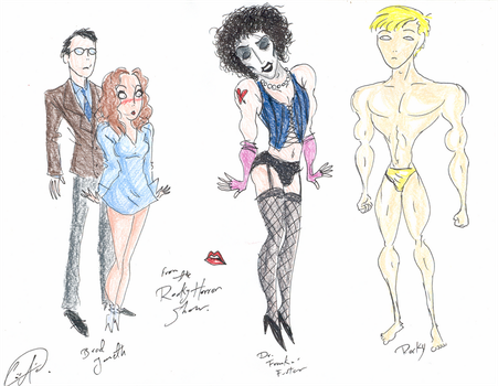 The  Rocky  Horror  Show by DemonCartoonist
