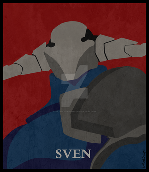 Sven - DOTA 2 - #2 by ArtRookDesigns