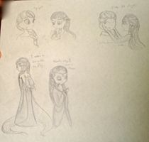 The Snow Queen and the Ice Princess by TheMidnightRainstorm