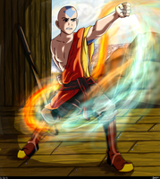 'A' for Aang by Mookyloo