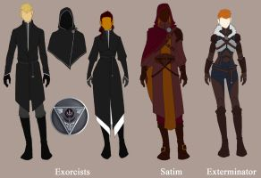 LC: Ordo Exorcista uniform guidelines by Mrakobulka