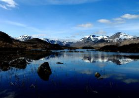 Lochan na h-Achlaise and the Black Mount (Return) by Crannogphotographic