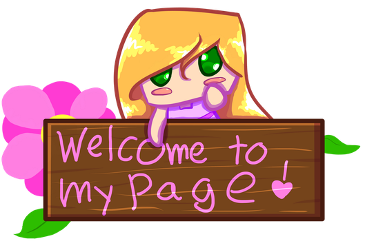 Welcome to My Page by Jen1878