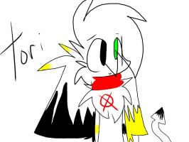 Tori, Yana and Slender's (SlenderStar's OC) Child by MincraftMegaAbsray